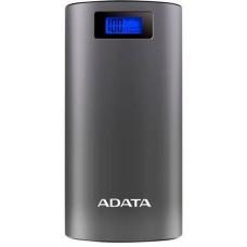 ADATA P20000D Power Bank 20000mAh šedá
