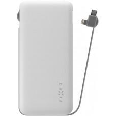 FIXED PWB FIXED Zen Lightning/USB-C, 10 000 mAh, bílá