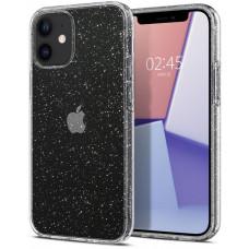SPIGEN Ochranný kryt Spigen Liquid Crystal Glitter pro Apple iPhone 12 mini (5,4