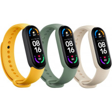 Xiaomi Mi Smart Band 6 Strap(3 pack) Ivory/Olive/Yellow