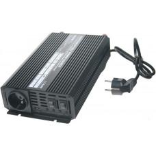 CARSPA Měnič napětí Carspa UPS600-12 12V/230V 600W s nabíječkou 12V/10A a funkcí UPS