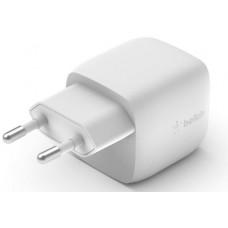 Belkin  30W USB-C nástěnná nabíječka 30W, GaN, bílá