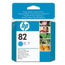 HP no 82 - azurová ink. kazeta, CH566A