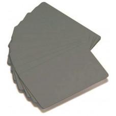 Zebra Premier card, silver