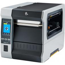 Zebra ZT620, 8 dots/mm (203 dpi), disp. (colour), RTC, ZPL, ZPLII, USB, RS-232, BT, Ethernet