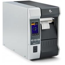 Zebra ZT610, 8 dots/mm (203 dpi), peeler, rewind, disp. (colour), RTC, ZPL, ZPLII, USB, RS-232, BT