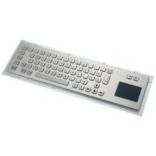 GETAC KB001T – Průmyslová nerezová klávesnice s touchpadem do zástavby, CZ, USB, IP65
