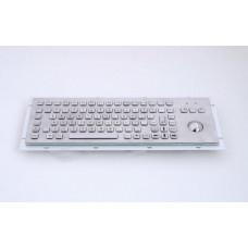 GETAC KB005 – Průmyslová nerezová klávesnice s trackballem do zástavby, CZ, USB, IP65