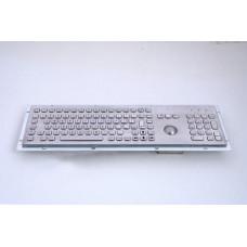 GETAC KB005K – Průmyslová nerezová klávesnice s trackballem do zástavby, CZ, USB, IP65