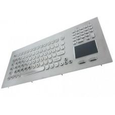 GETAC KB020 – Průmyslová nerezová klávesnice s touchpadem do panelu, CZ, USB, IP65