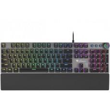 GENESIS mechanická klávesnice THOR 380, US layout, RGB podsvícení, Outemu BLUE