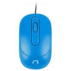 NATEC optická myš VIREO 1000 DPI, modrá