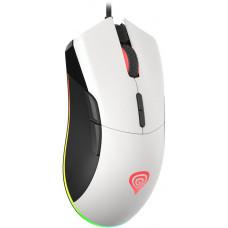 GENESIS herní optická myš Krypton 290 6400DPI, RGB, SW, bílá