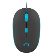 NATEC Optická myš Natec Sparrow 1200 DPI, černo-modrá