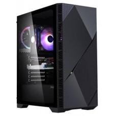 Zalman case miditower Z3 ICEBERG BLACK, bez zdroje, ATX, 2x 120mm ARGB ventilátor, temperované