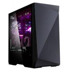 Zalman case miditower Z9 ICEBERG BLACK, bez zdroje, ATX,2x 140mm ventilátor,temperované sklo,2x USB