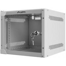 LANBERG Nástěnný rack 10'' 4U 280x310mm šedý flat pack