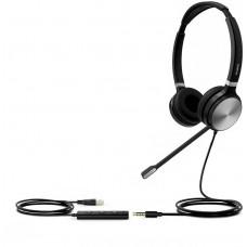 YEALINK UH36 Dual náhlavní souprava na obě uši s  3.5mm jack - USB konektory