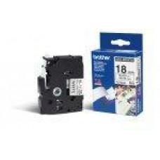 BROTHER TZE-N241,  bílá/černá, 18mm
