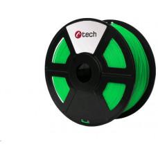 C-Tech Tisková struna (filament) ABS, 1,75mm, 1kg, flourescentní zelená