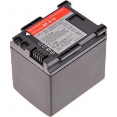 T6 POWER Baterie T6 power Canon BP-819, BP-808, BP-809, 1720mAh, 12,7Wh, černá