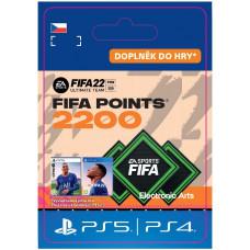 ESD CZ PS4 - FUT 22 – FIFA Points 2200