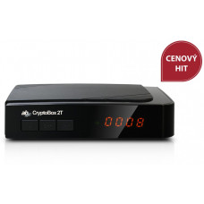 AB COM AB CryptoBox 2T HD terestriálny/káblový prijímač