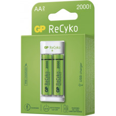 GP BATERIE GP nabíječka baterií Eco E211 + 2× AA REC 2000