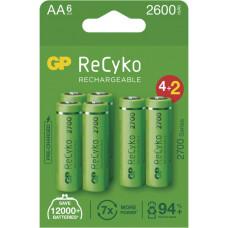 GP BATERIE GP nabíjecí baterie ReCyko 2700 AA (HR6) 4+2PP