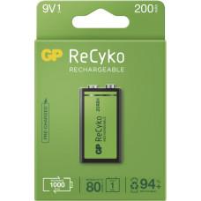GP Batteries GP 9V ReCyko 200 series, nabíjecí