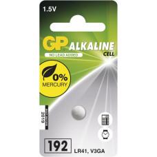 GP Batteries GP LR41 (GP192, 7.9 x 3.6 mm) - 1 ks