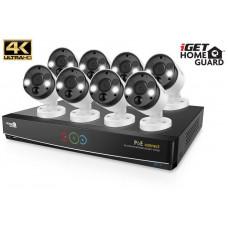IGET HGNVK164908 - Kamerový UltraHD 4K PoE set, 16CH NVR + 8x IP 4K kamera, zvuk, SMART