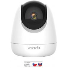 TENDA CP6 Security 2K (3MP) Wi-Fi otočná kamera, noční vidění, dvoucestné audio,microSD, CZ