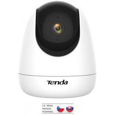 TENDA CP3 Security 1080p Wi-Fi otočná kamera, noční vidění, dvoucestné audio, microSD, CZ aplikace