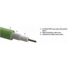 OEM 4vl. 9/125um kabel gelový FRLSZH Dca CLT zelený