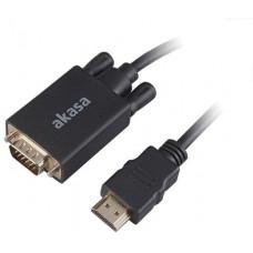 AKASA - adaptér HDMI na D-sub - 2 m