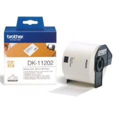 BROTHER DK-11202 (papírové / poštovní štítky - 300 ks)