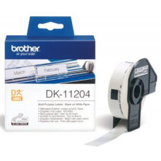 BROTHER DK-11204 (papírové / univerzální štítek - 400 ks)