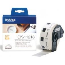 BROTHER DK-11218 (papírové / kulaté, průměr 24 mm -1000ks)