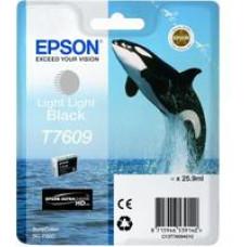 EPSON T7609 Ink Cartridge Light Light Black