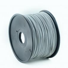 GEMBIRD Struna pro 3D tisk, PLA, 1,75mm, 1kg, 330m, šedá
