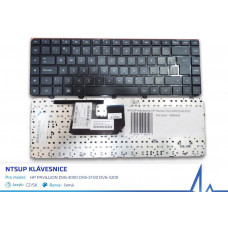 NTSUP Klávesnice HP Pavilion DV6-3000 DV6-3100 DV6-3200 černá CZ/SK