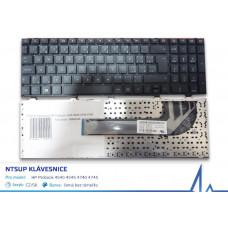 NTSUP Klávesnice HP Probook 4540 4545 4740 4745 černá CZ/SK bez rámečku