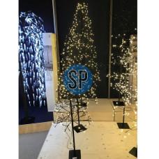 osvětlení vánoční STROM 120cm 160LED ČER