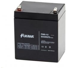 FUKAWA Baterie - FUKAWA FW 5-12 U (12V/5Ah - Faston 187),  životnost 5let
