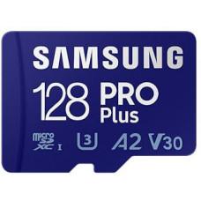 SAMSUNG micro SDHC 128GB PRO Plus + SD adaptér