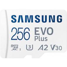 SAMSUNG micro SDXC 256GB EVO Plus + SD adaptér