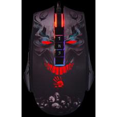 A4-tech A4tech BLOODY P85S, herní myš, RGB podsvícení, ANIMATION GAMING, 8000DPI, USB, Skull , Core