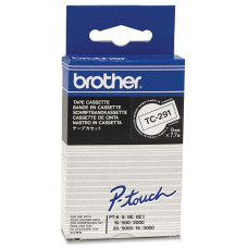 BROTHER TC-291 bílá / černá (9mm)