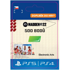 ESD CZ PS4 - MADDEN NFL 22 - 500 Madden Points